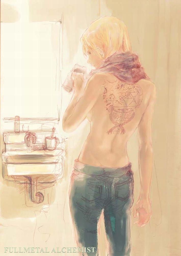 【着替えたり】洗面台の鏡の前の二次エロ画像【歯磨きしたり】【2】