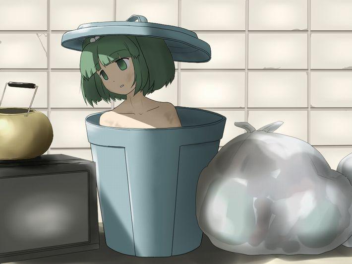 【くさい(確信)】数日風呂に入って無さそうな顔や身体が汚れた女の子達の二次エロ画像【13】