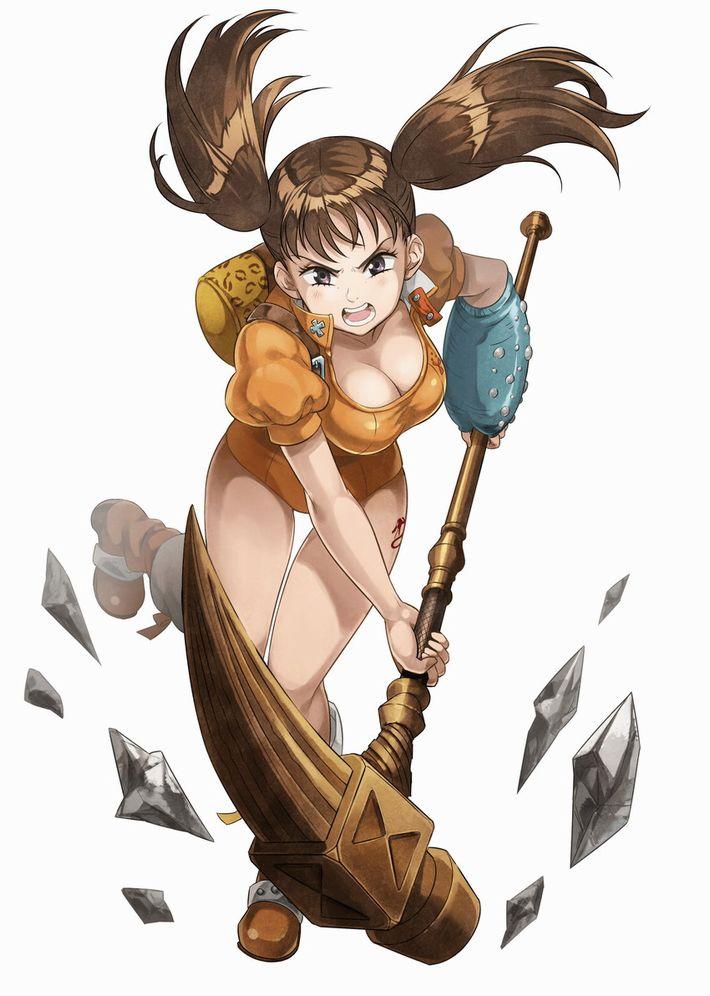 【七つの大罪】ディアンヌのエロ画像【40】