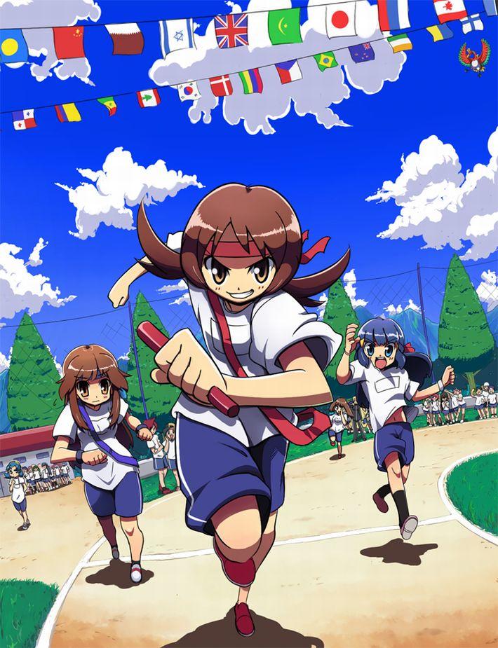 【国旗当てゲーム!】運動会と言えば万国旗だよなぁ!?って二次エロ画像【パラグアイ!】【16】