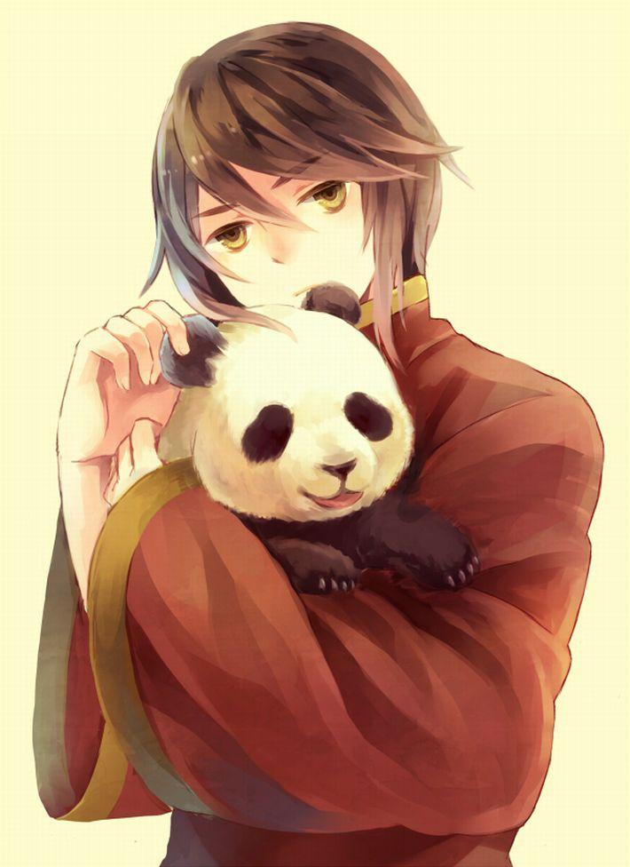 【あっパンダだ!!】2月22日はネコの日なので・・・大熊猫ことパンダと美少女の二次画像【カワイイーッ】【8】