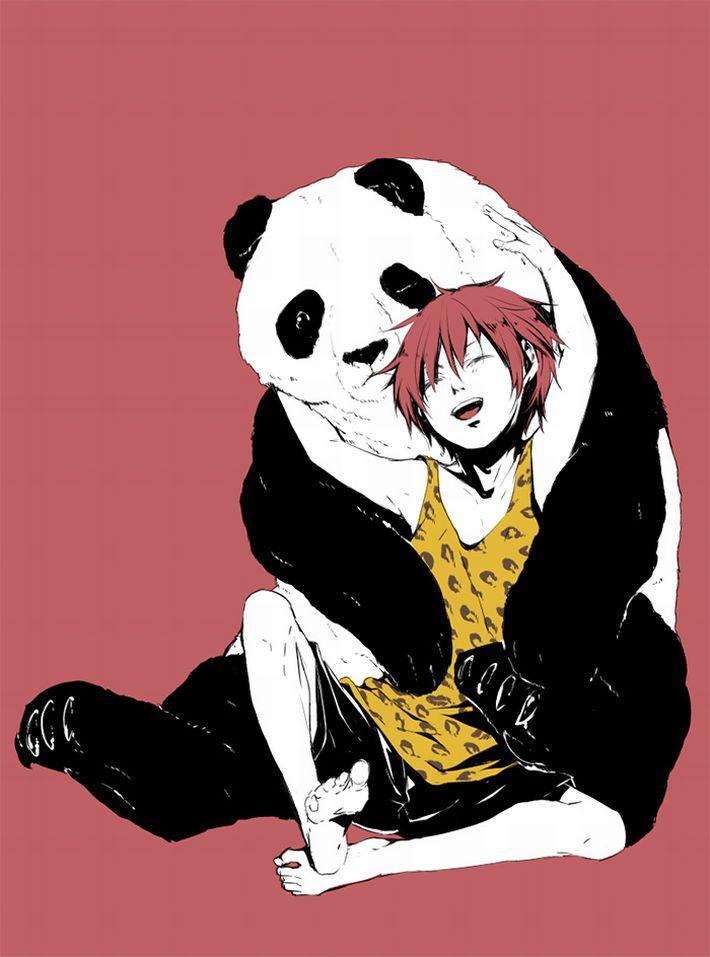 【あっパンダだ!!】2月22日はネコの日なので・・・大熊猫ことパンダと美少女の二次画像【カワイイーッ】【17】