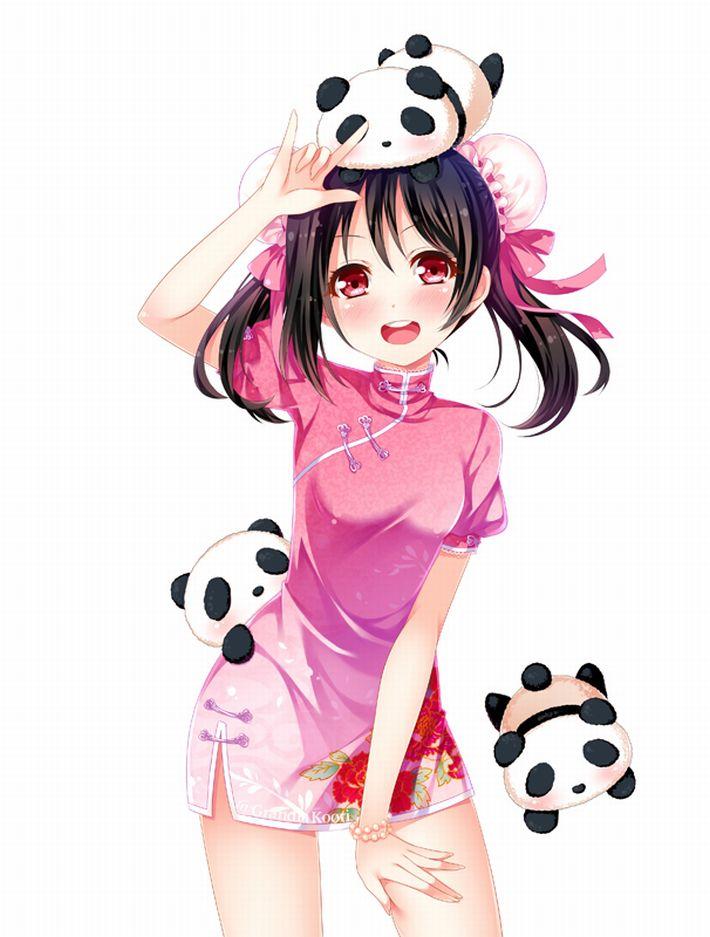【あっパンダだ!!】2月22日はネコの日なので・・・大熊猫ことパンダと美少女の二次画像【カワイイーッ】【21】