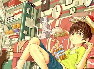 【あらかわいい】鳩時計と美少女の二次画像【いやよくみたらクソむかつく】
