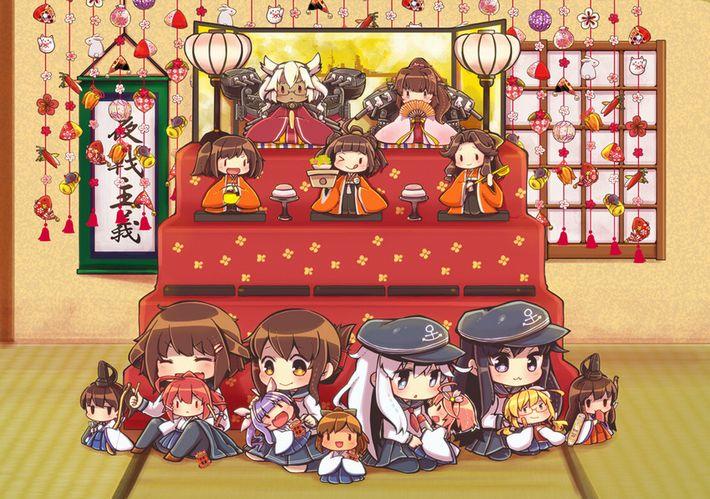 【ぼんぼりってナニ?】ひな祭りを楽しむ美少女達の二次画像【8】