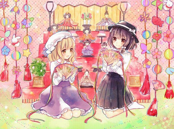 【ぼんぼりってナニ?】ひな祭りを楽しむ美少女達の二次画像【26】