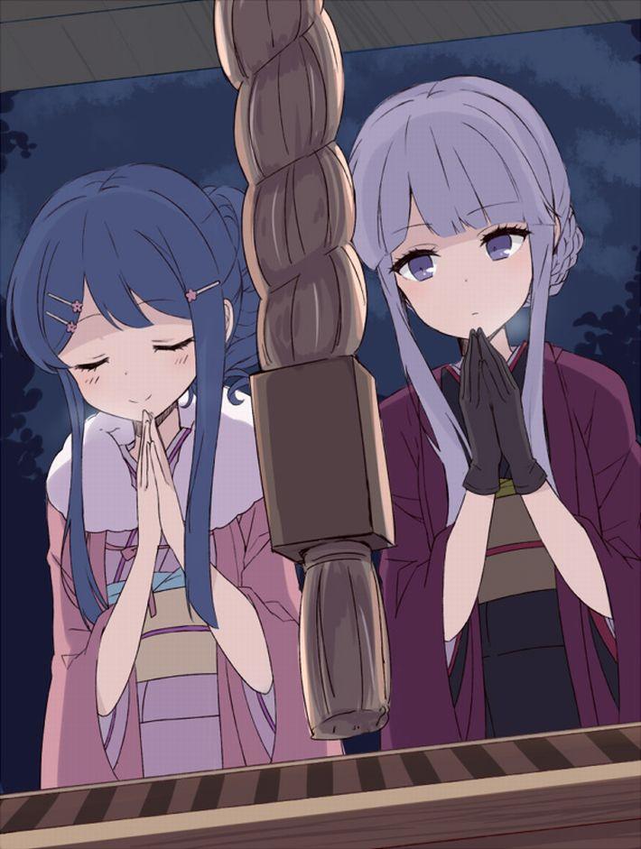 【まず一揖】神社に参拝中な女の子達の二次画像【最期にまた一揖しておわり】【13】