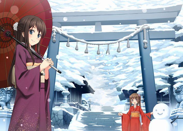 【まず一揖】神社に参拝中な女の子達の二次画像【最期にまた一揖しておわり】【15】