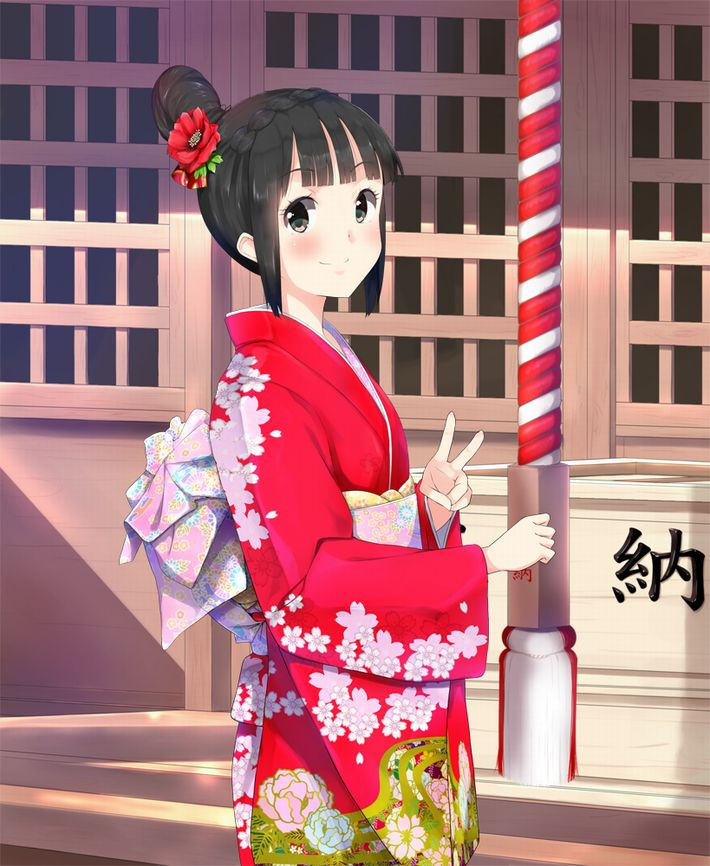 【まず一揖】神社に参拝中な女の子達の二次画像【最期にまた一揖しておわり】【31】