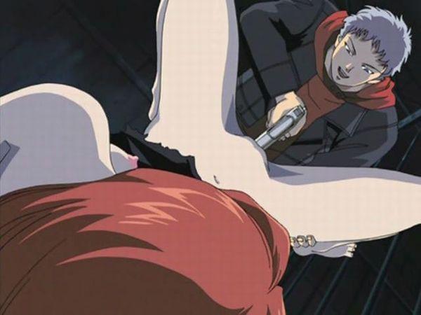 【絶体絶命】マンコに拳銃突っ込まれてる二次エロ画像【13】