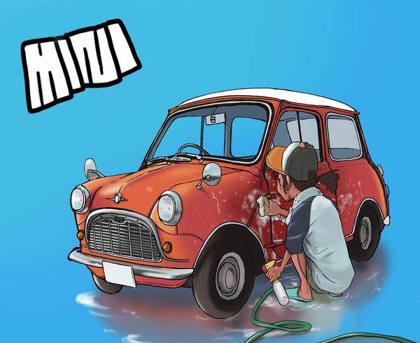 【血の色をごまかせるな】赤い車と女の子の二次画像【13】