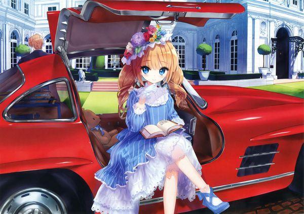 【血の色をごまかせるな】赤い車と女の子の二次画像【30】