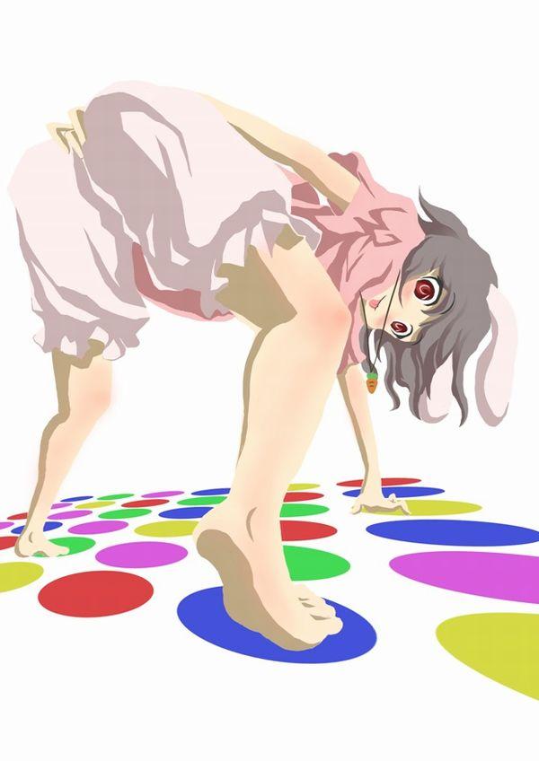 【至高の遊戯】美女がツイスターゲームに興じている二次エロ画像【16】