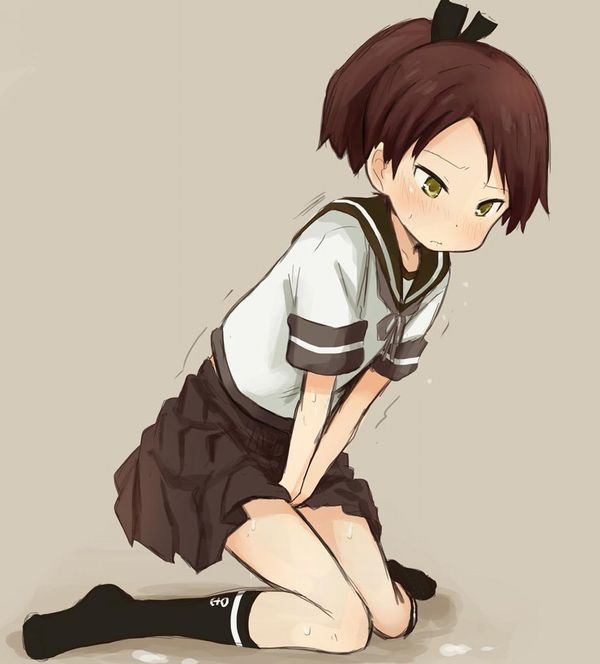【MajiでNyouする5秒前】オシッコ必至に我慢してる女子達の二次エロ画像【13】