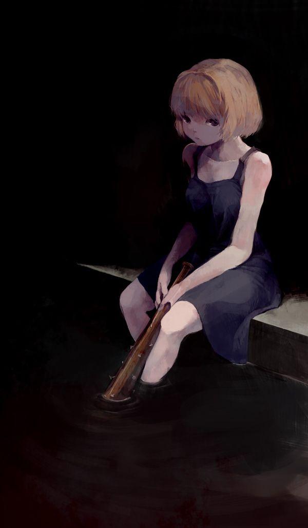 【どこいきやがった…】釘バットを持つ女子達の二次画像【38】