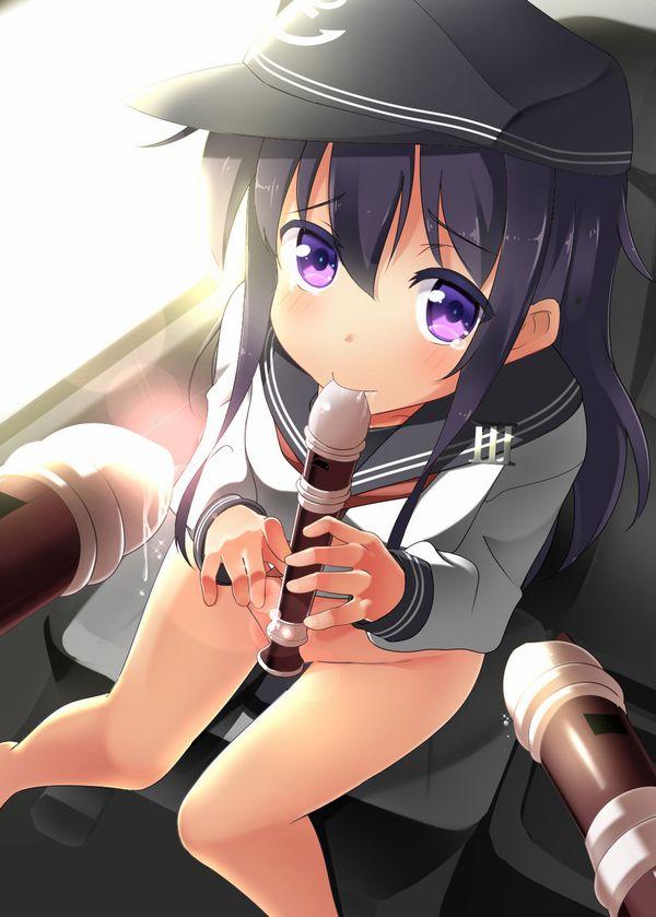 【フェラの隠語じゃないよ?】笛を吹いてる女の子達の二次エロ画像【1】