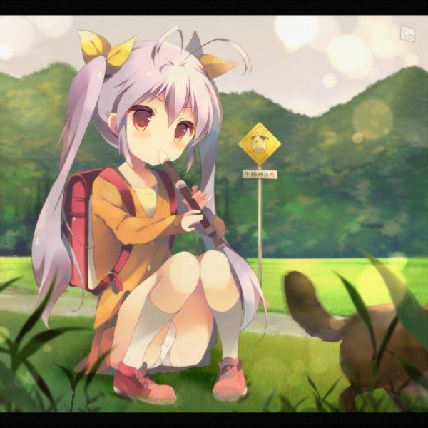 【フェラの隠語じゃないよ?】笛を吹いてる女の子達の二次エロ画像【9】