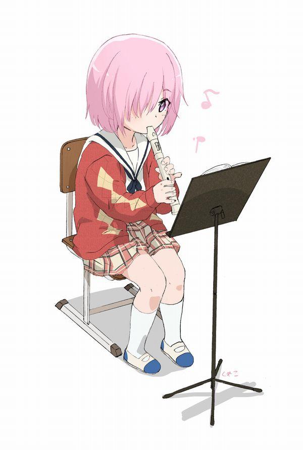 【フェラの隠語じゃないよ?】笛を吹いてる女の子達の二次エロ画像【12】