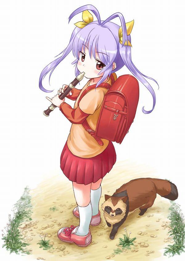 【フェラの隠語じゃないよ?】笛を吹いてる女の子達の二次エロ画像【13】