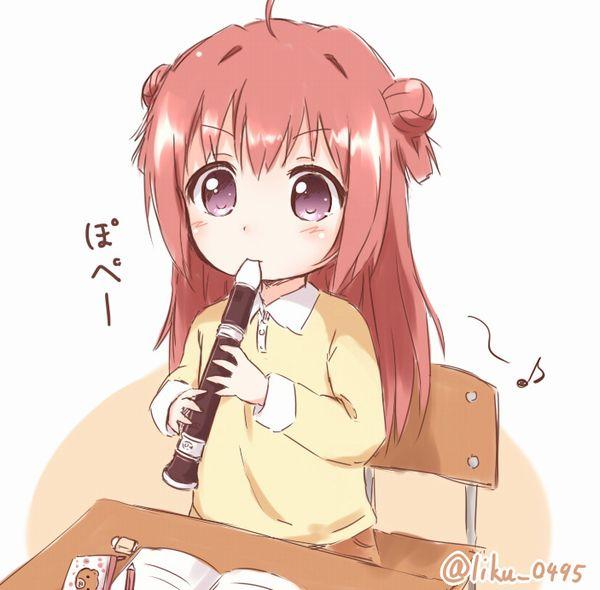 【フェラの隠語じゃないよ?】笛を吹いてる女の子達の二次エロ画像【17】
