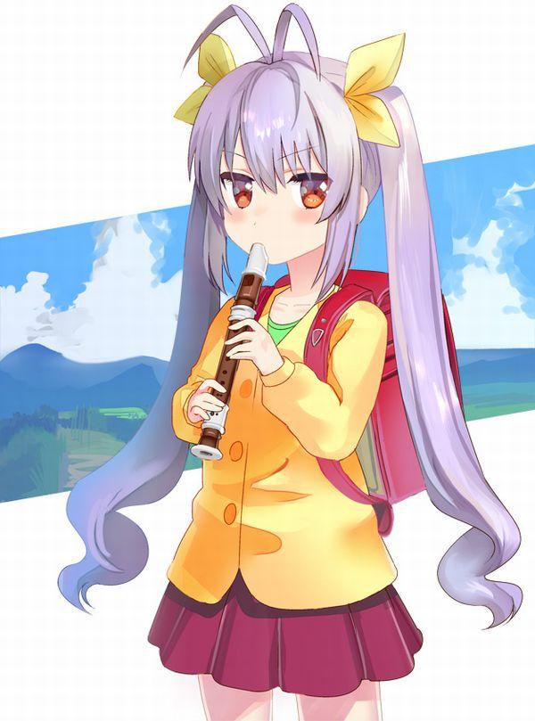 【フェラの隠語じゃないよ?】笛を吹いてる女の子達の二次エロ画像【18】