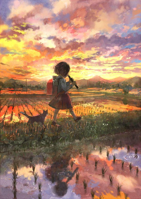 【フェラの隠語じゃないよ?】笛を吹いてる女の子達の二次エロ画像【19】