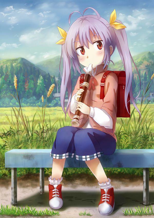 【フェラの隠語じゃないよ?】笛を吹いてる女の子達の二次エロ画像【21】