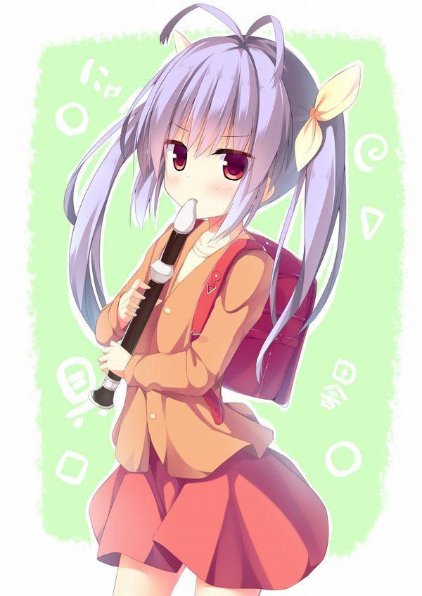 【フェラの隠語じゃないよ?】笛を吹いてる女の子達の二次エロ画像【22】