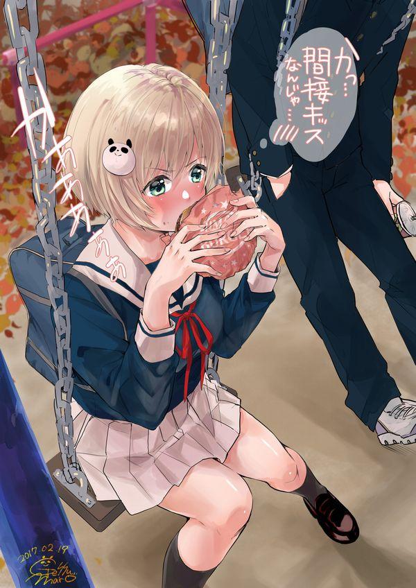 【ノーノー】ハンバーガー食べてる女の子達の二次画像【ヘンブゥーグゥ~】【6】