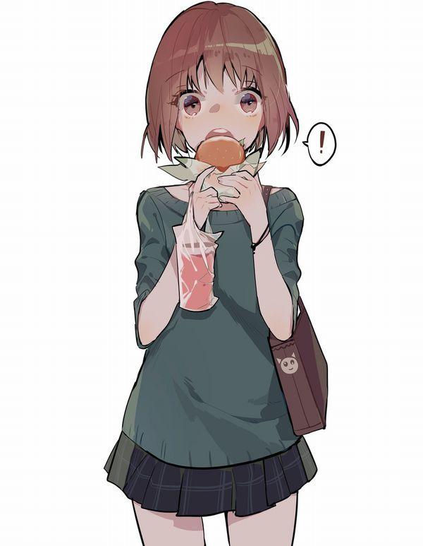 【ノーノー】ハンバーガー食べてる女の子達の二次画像【ヘンブゥーグゥ~】【27】