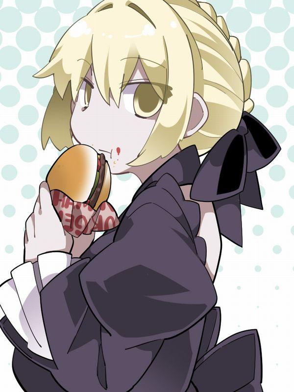 【ノーノー】ハンバーガー食べてる女の子達の二次画像【ヘンブゥーグゥ~】【31】
