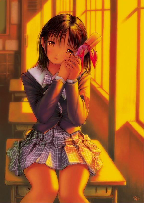 【雨や風寒さに負けず】卒業式と制服美少女の二次エロ画像【あの木は強く育つだろう】【3】