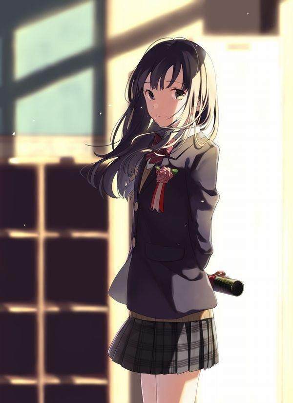 【雨や風寒さに負けず】卒業式と制服美少女の二次エロ画像【あの木は強く育つだろう】【20】