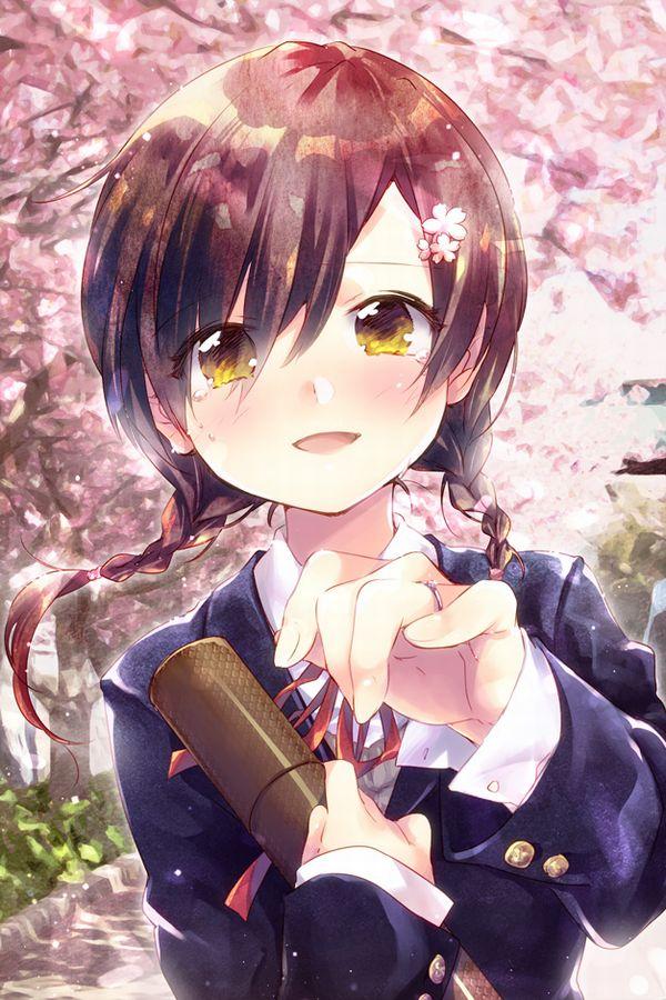 【雨や風寒さに負けず】卒業式と制服美少女の二次エロ画像【あの木は強く育つだろう】【30】