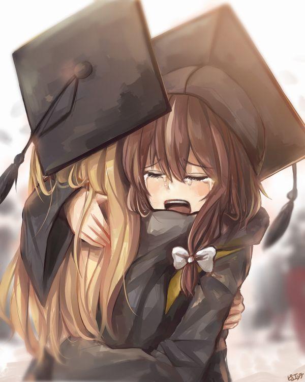【雨や風寒さに負けず】卒業式と制服美少女の二次エロ画像【あの木は強く育つだろう】【34】