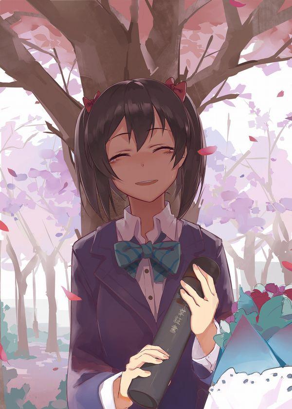 【雨や風寒さに負けず】卒業式と制服美少女の二次エロ画像【あの木は強く育つだろう】【37】