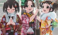 【まず一揖】神社に参拝中な女の子達の二次画像【最期にまた一揖しておわり】