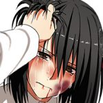 【顔はやめなよ】ビンタされた女の子の二次微リョナ画像