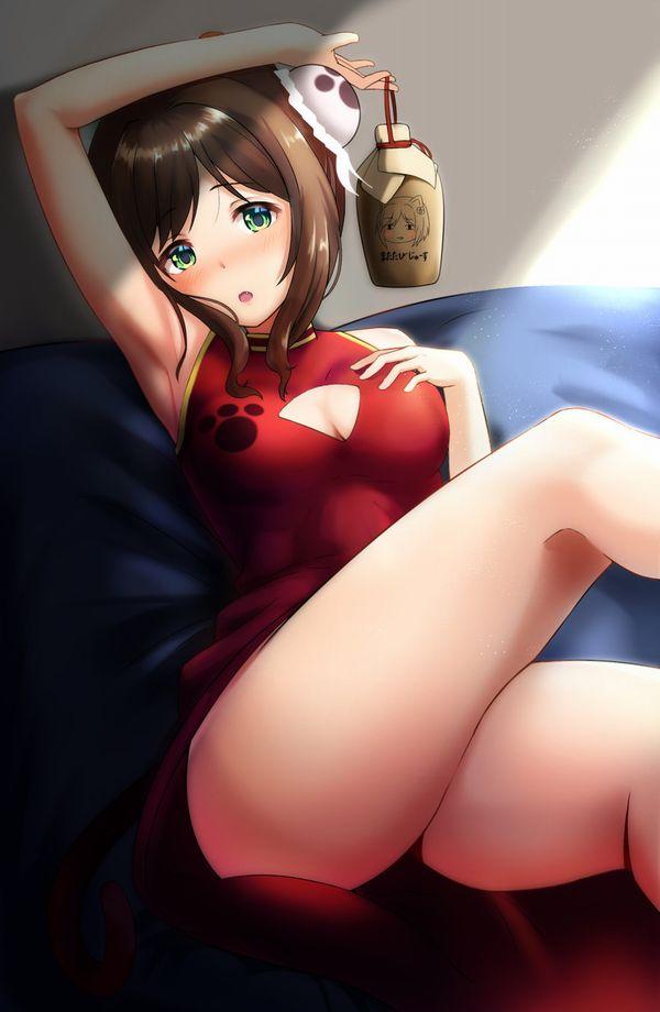 【夏って良いよね】ノースリーブ着てる女の子に腋の下を見せて貰ってる二次エロ画像【19】