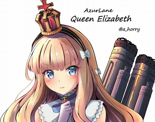 【アズールレーン】クイーン・エリザベスのエロ画像【アズレン】【20】