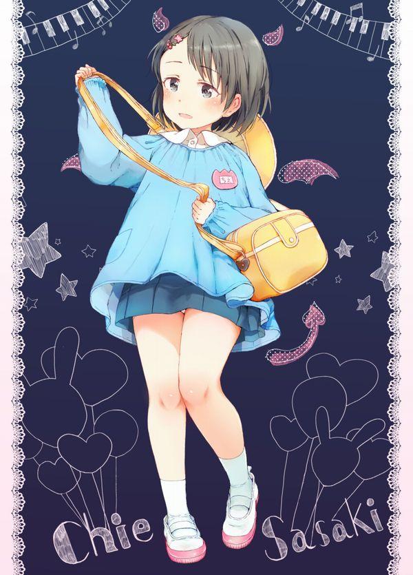 【お似合いですね】幼稚園児の服を着たちっぱい少女達の二次エロ画像【9】