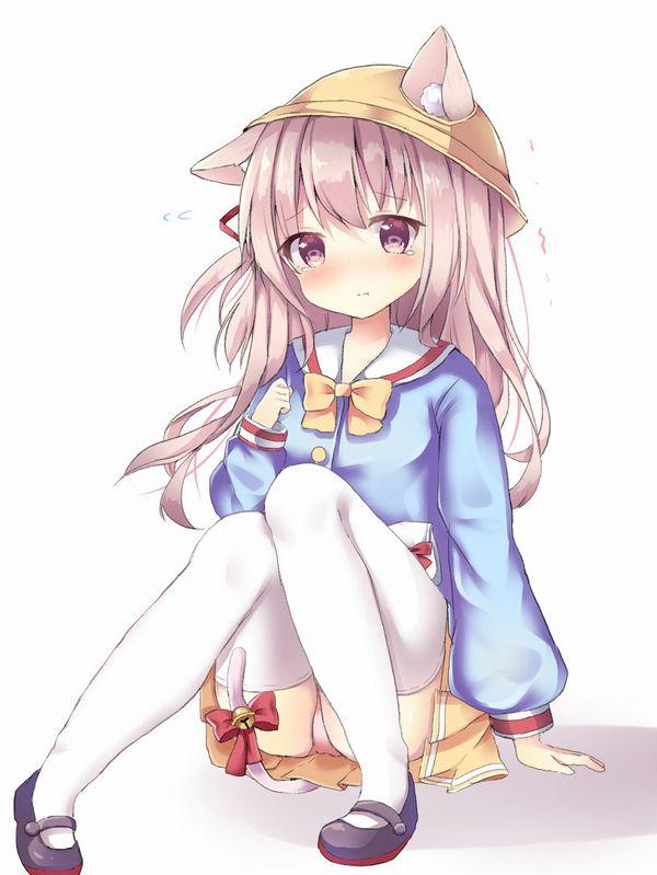 【お似合いですね】幼稚園児の服を着たちっぱい少女達の二次エロ画像【19】