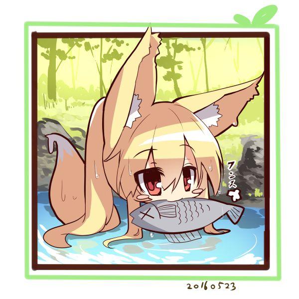 【スメアゴル!?】生魚を口に咥えた女の子達の二次エロ画像【いいえゼロツーです】【35】