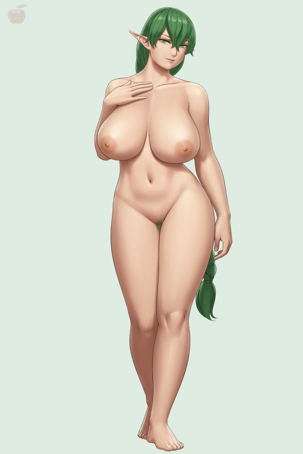 【大体重力のせい】おっぱい垂れ気味な巨乳女子の二次エロ画像【24】