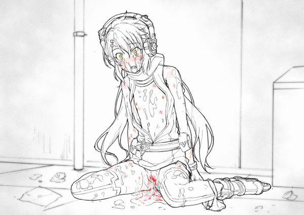 【嬉し泣きはありません】目に涙を浮かべたセックス直後な女子達の二次エロ画像【40】