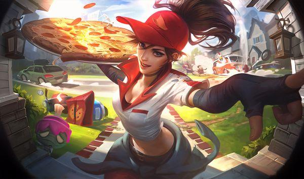 【違う物も届けて欲しい】宅配ピザのバイトしてる女子達の二次エロ画像【23】