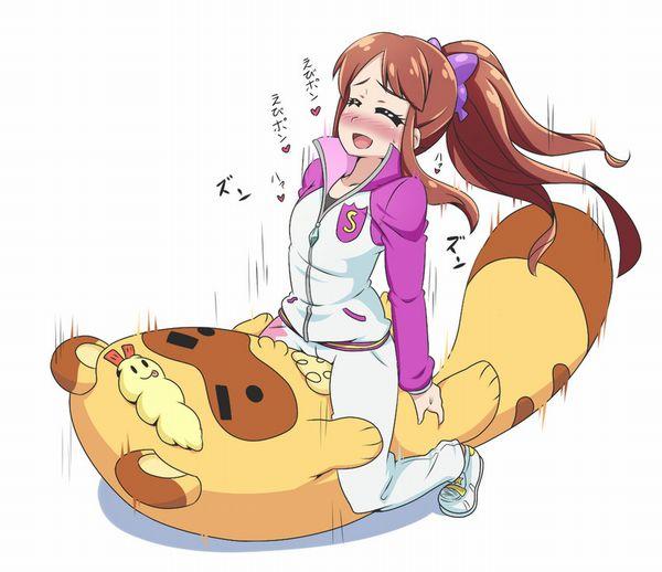 【アイカツ!】紫吹蘭(しぶきらん)のエロ画像【4】