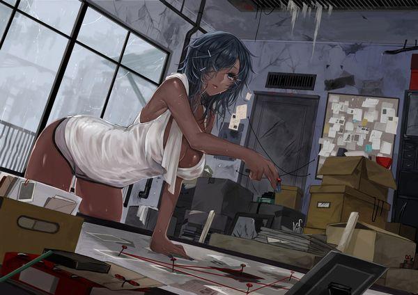 【こくヌキ王国】オカズになりそうな黒人女性の二次エロ画像【9】