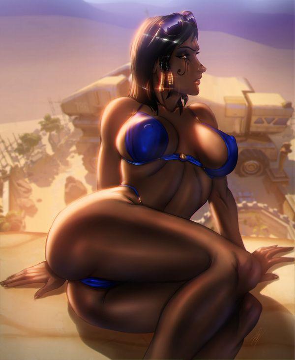 【こくヌキ王国】オカズになりそうな黒人女性の二次エロ画像【19】