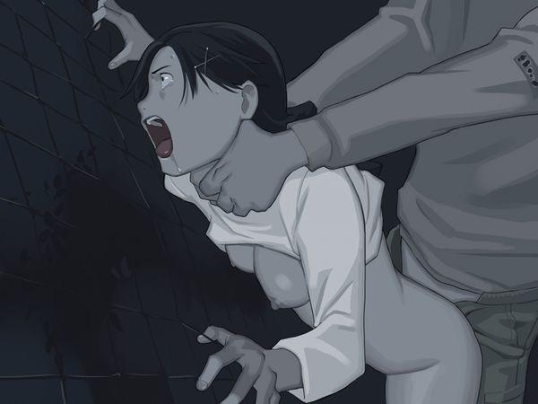 【死ぬ!死んじゃうっ!】首絞めセックス強要されてる二次エロ画像【3】